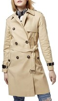 Topshop Military Trench Coat