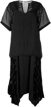 Muller of Yoshio Kubo Blaar opal lace check dress