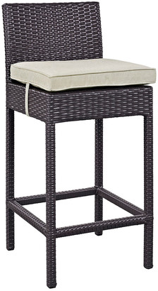 Modway Outdoor Convene Outdoor Patio Upholstered Fabric Bar Stool