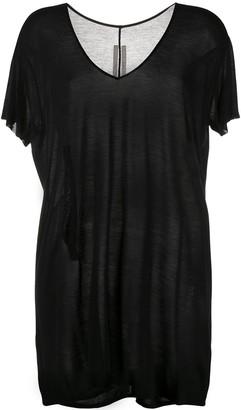 Rick Owens cut-out T-shirt