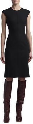 Agnona Sleeveless Cashmere Crewneck Dress