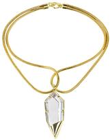 Noir Detailed Pendant Necklace