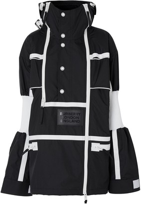 Burberry Two-Tone Reconstructed Track Coat