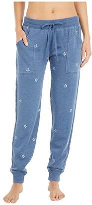 PJ Salvage American Revival Star Joggers (Denim) Women's Pajama