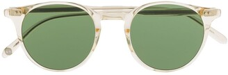 Garrett Leight Clear Frame Sunglasses