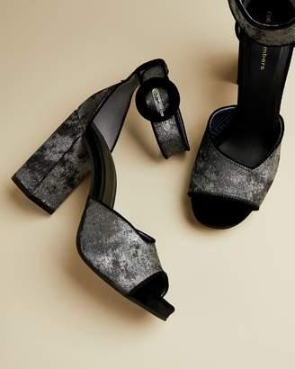 Ted Baker ZIGIAUS Peep toe block heels