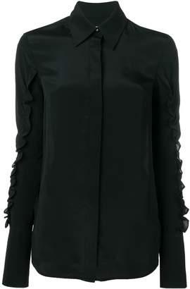 Victoria Victoria Beckham ruffle sleeves shirt