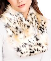 Bobcat Faux Fur Infinity Scarf
