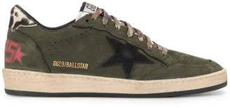 Golden Goose cow-print Ball Star sneakers