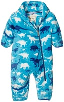 Hatley Silhouette Dinos Fuzzy Fleece Bundler (Infant)
