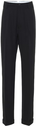 Maison Margiela High-rise straight pants