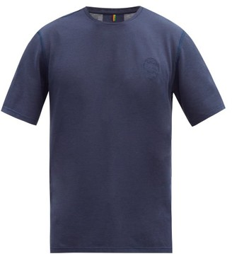 Iffley Road Cambrian Pique T-shirt - Mens - Navy