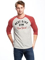 Old Navy Graphic Raglan-Sleeve Tee for Men