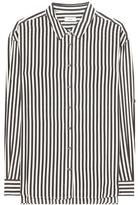 Closed Striped silk blouse