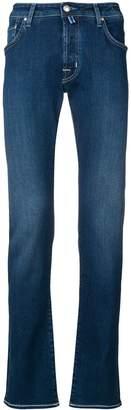 Jacob Cohen Stitching Detail Jeans