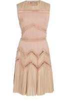 J. Mendel Pleated Cocktail Dress