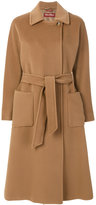 Max Mara belted coat - women - Viscose/Virgin Wool - 36