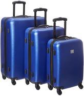 Diane von Furstenberg Soleil Three-Piece Hardside Spinner Set Luggage