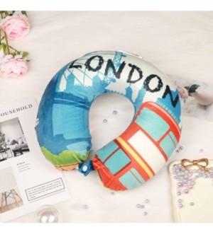 Bon Voyage World Memory Foam Travel Neck Pillow