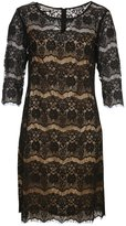 Silk Diva Lace Silk Lines Dress