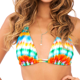 Luli Fama D/DD Cup Triangle Halter Top In Multicolor (L487073)
