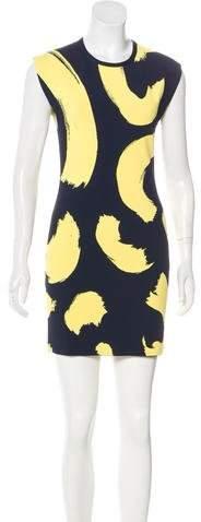 Celine Brushstroke Mini Dress
