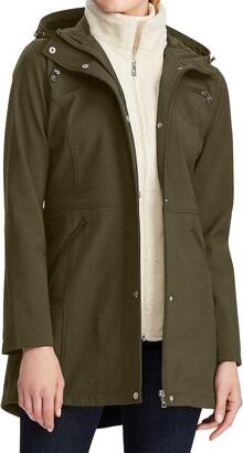 Lauren Ralph Lauren Hooded Soft Shell Raincoat