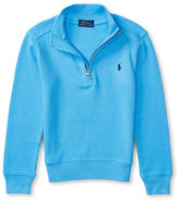 Ralph Lauren Boys 2-7 Half-Zip Cotton Pullover