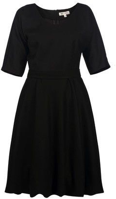 Muza Elegant Bubble Hem Dress