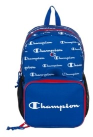 Champion Kids Backpack and Lunch Kit Combo