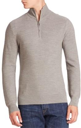 Ralph Lauren Purple Label Half Zip Sweater