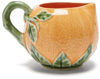 Bordallo Pinheiro - Orange Earthenware Jug - Orange