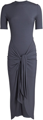 Significant Other Momentary Rib Knit Tie Dress