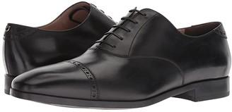 Salvatore Ferragamo Boston Captoe Oxford (Nero) Men's Shoes