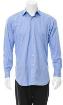 Brioni Striped Button-Up Shirt w/ Tags