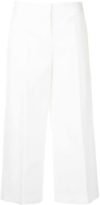 Boutique Moschino Cropped Wide Leg Trousers