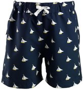 Rachel Riley Sailboat Swim Trunks (Toddler/Kid) - Navy-4 Years
