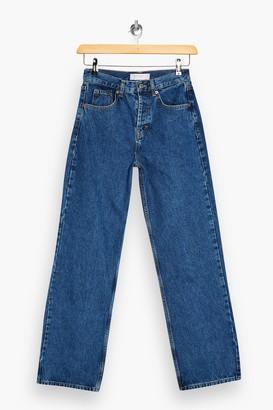 Topshop PETITE Mid Stone Jeans