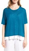Eileen Fisher Women's Organic Linen Top