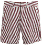 J.Crew Boys' club short in red currant seersucker