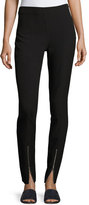 Elizabeth and James Eddine High-Waist Skinny Zip-Cuffs Pants