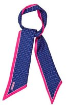 Thomas Pink Asymmetrical Silk Scarf