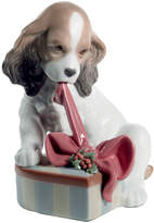 Lladro Can't Wait For Christmas Sculpture