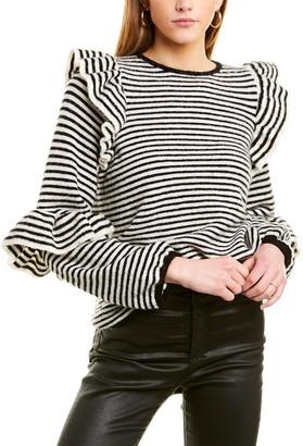 MONICA Notes Du Nord Wool-Blend Sweater