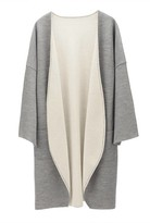 Lightweight Reversible Knitted Coat