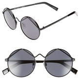 Le Specs Women's 'Wild Child' 52Mm Sunglasses - Black