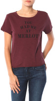 Feel The Piece x Tyler Jacobs You Had Me At Merlot Tee