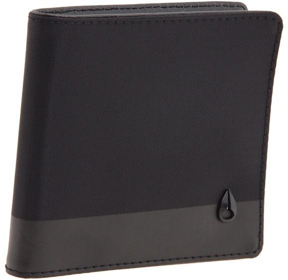 Nixon Phase Five Bi-Fold Wallet (Black Nylon) - Bags and Luggage