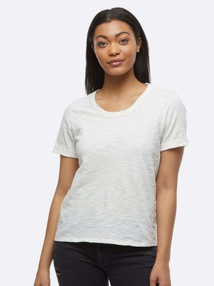 ABLE Lourdes Distressed Slouch Tee