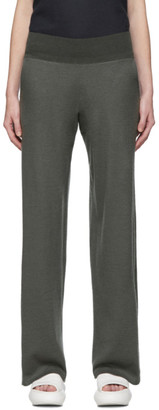 Frenckenberger Grey Cashmere Wide Lounge Pants